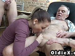 4some-grandpa-old and young-watching