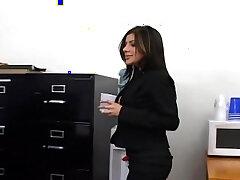 busty girls-girl-office-secretary