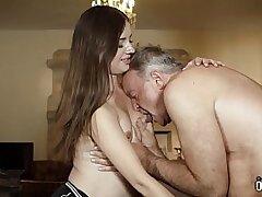 18 year old-blowjob-boobs-cock