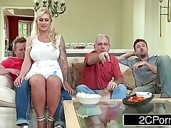 blonde-bubble butt-cheating-cock