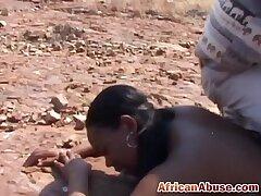 abuse-african-bdsm-bitch